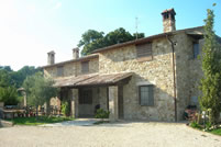 vacanza in collina in Umbria
